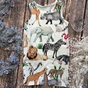 Other - Boutique Baby Unisex Zoo Romper